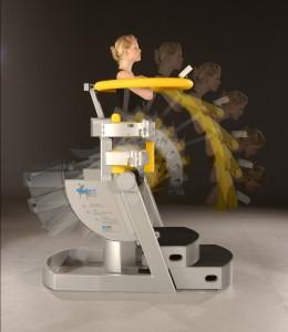Healing technology: Threedimensional back treatment device CTT Centaur