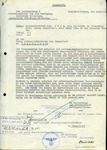 "The secret ""Gestapo""- letter that temporarily protected Ernst Hess from Nazi persecution"