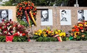 Kranzniederlegung für Opfer des Nationalsozialismus