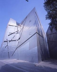 Außenansicht Jüdisches Museum Berlin, Fassade Libeskind-Bau