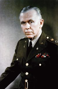 Portrait: US Army (USA) General (GEN) George C. Marshall.