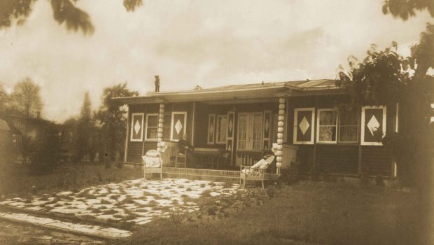 The Lake House, photograph by Lotte Jacobi, 1928 (c)  (Alexander Family Archive)